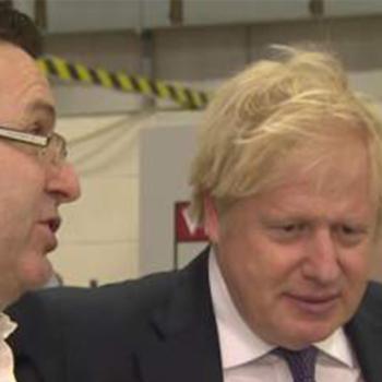 Boris Johnson visits University of Sunderland