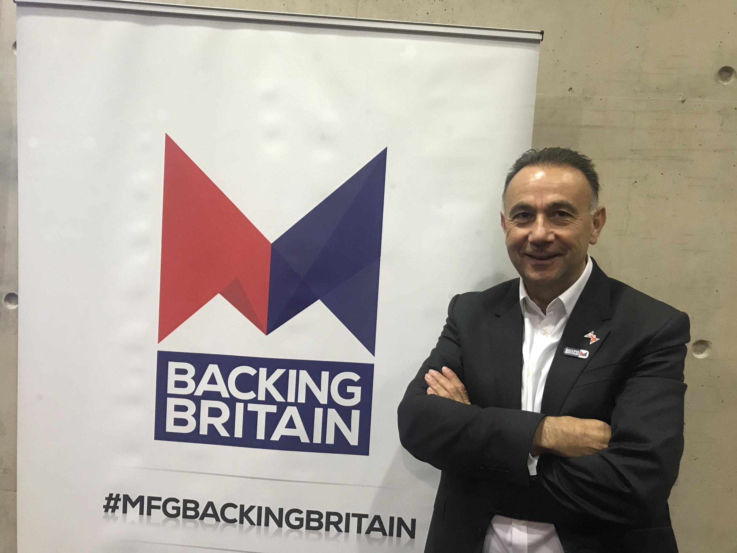 Bauromat Backing Britain